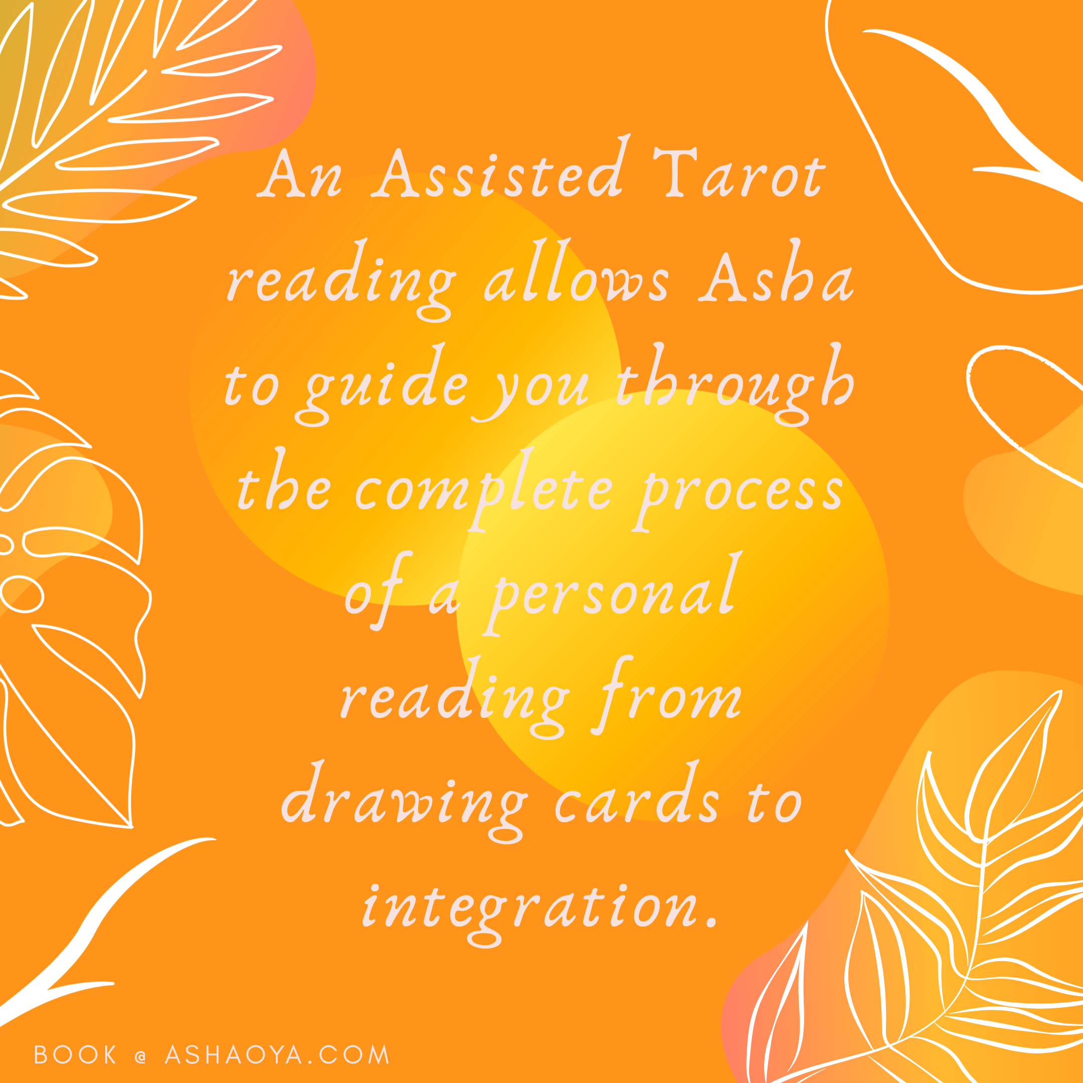 Assisted Tarot Readings